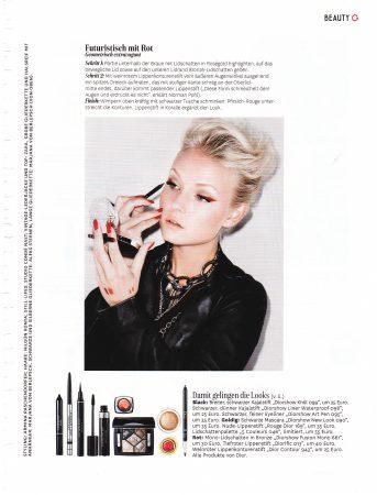 glamour zeitschrift beauty makeup referenz 2