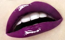 lila lippen makeup beauty referenz
