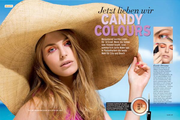 shape magazin beauty makeup referenz