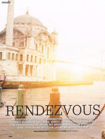 Rendezvous in Istanbul Fashion Referenz Nilgün Konya