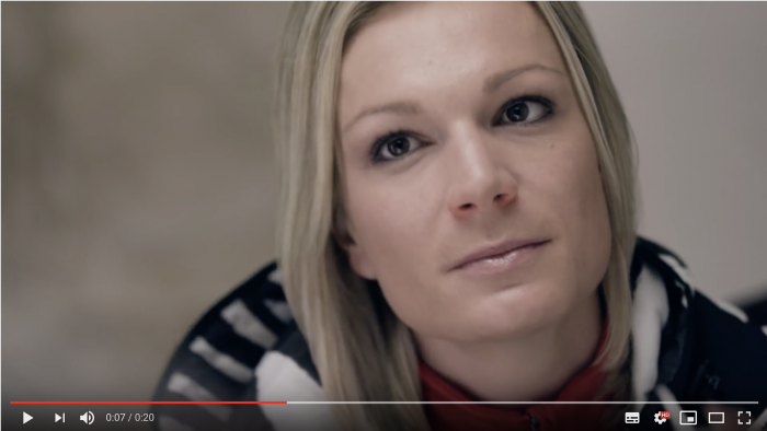WICK Vapo Spray mit Maria Hoefl Riesch Commercial TV Referenz von Hair & Makeup Artist Nilgün Konya aus München.